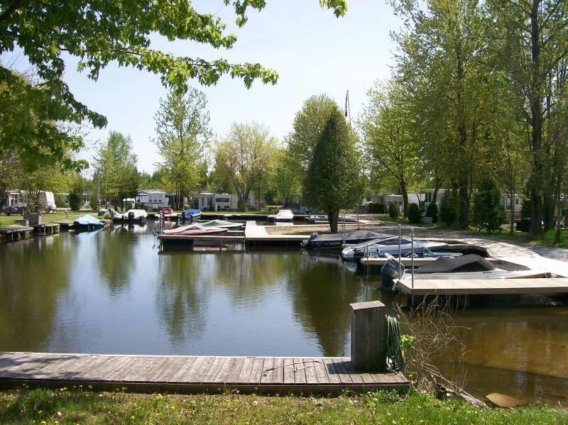 Camping Balsam Lake Trailer Park Amp Marina