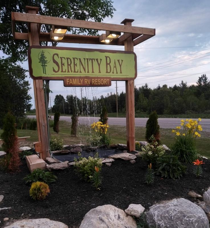 Ontario Park Bungalow Blog: Serenity Bay Cottage & RV Park